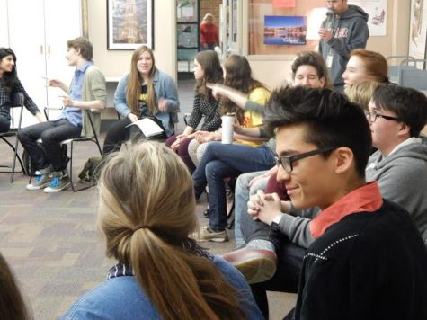 Students hold gender equality meeting