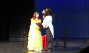 Junior high welcomes Belle and the Beast