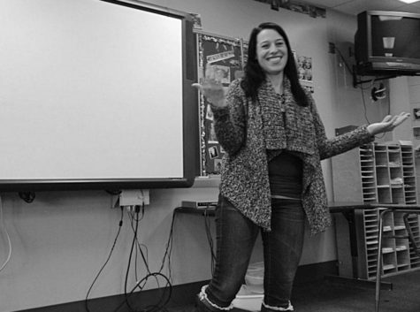 Social studies teacher works through pain
