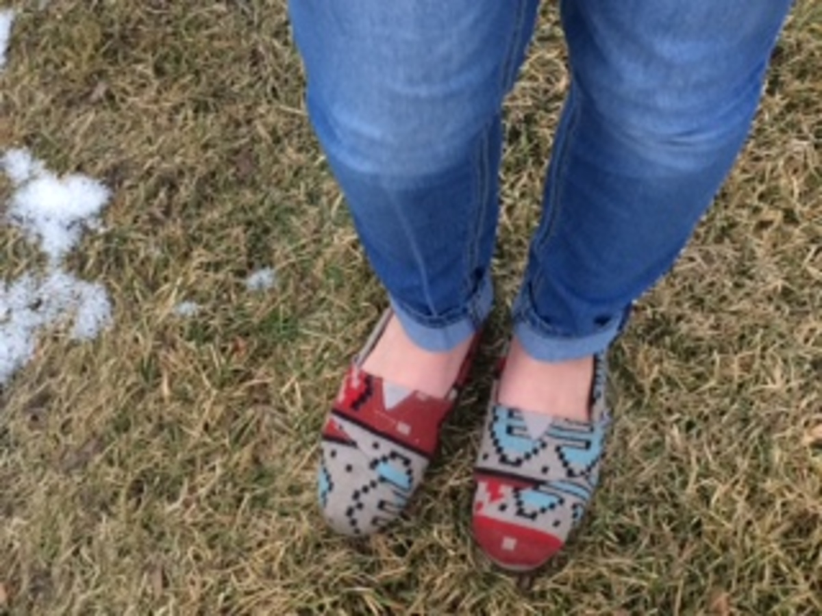 Toms: From profit to charitable organization