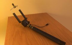 Selfie stick zooms into popularity