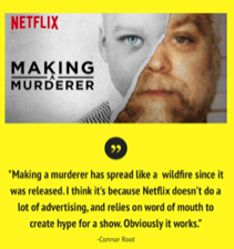 'Making a Murderer': killing it with fans