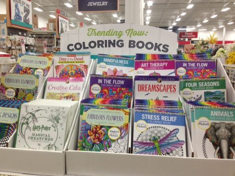 Simple stress relief by coloring books