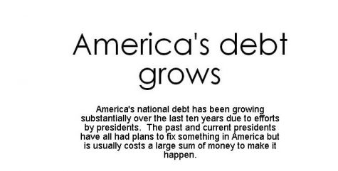 Efficient planning to reduce Americas debt