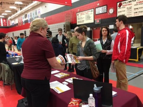 High turnout for Stillwater's college fair