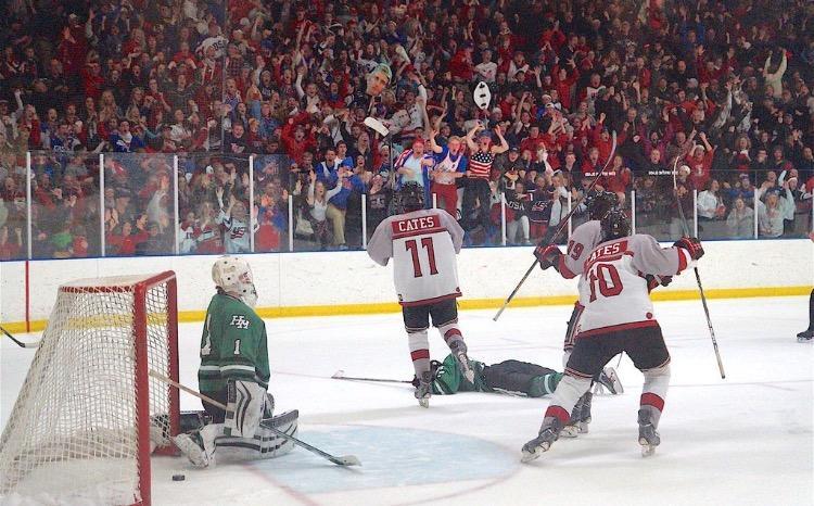 Noah Cates: scoring his way to the top