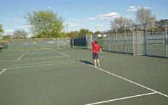 Boys tennis faces construction