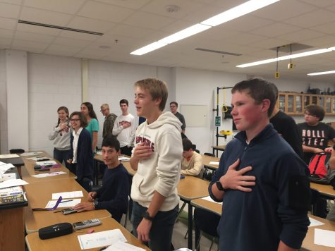 When there is 'justice for all,' students will stand for Pledge