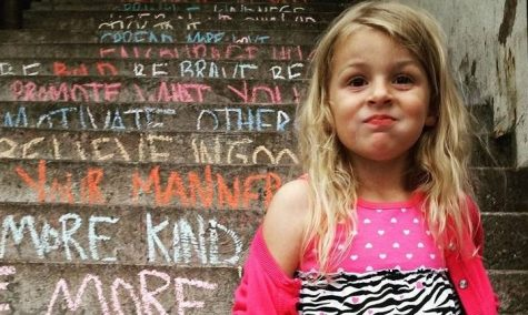 Stonebridge kindergartner and mom promote kindness