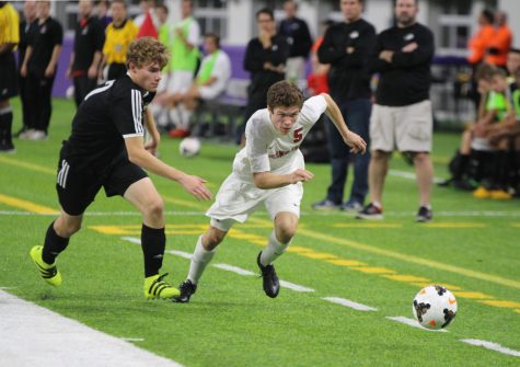 Patrick Allan leads varsity soccer team towards state title