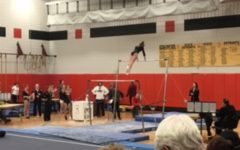 Gymnastics team prepares for sections after topping long-time competitor
