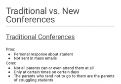 Conference system changes aim to serve all families