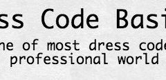 Dress codes are acceptable if equally enforced