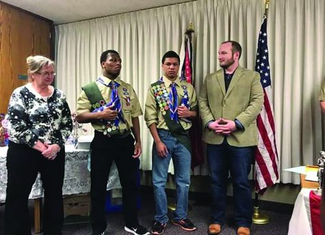 Students receive highest Boy Scout ranking