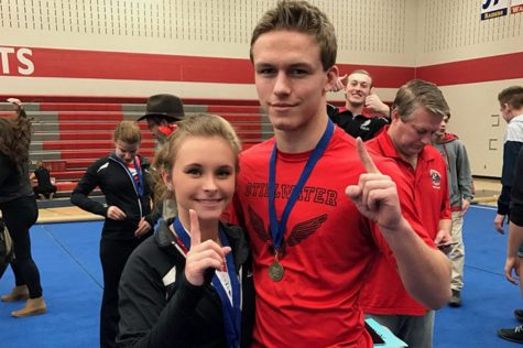 Thole twins headed for success in gymnastics, wrestling