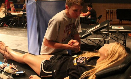 The recent blood drive hosted by the National Honor society was a big success.