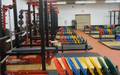 Weight room now provides athletes current equipment and facility