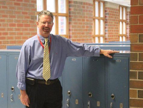 Don Johnson taking over principal position