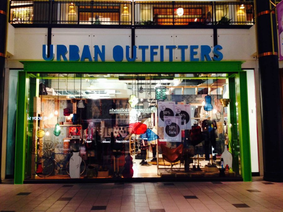 "Urban Outfitters owns and produces the new ""Urban On"" app."