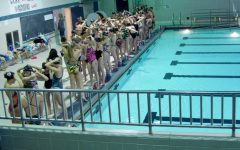 Girls swim team still practicing to win