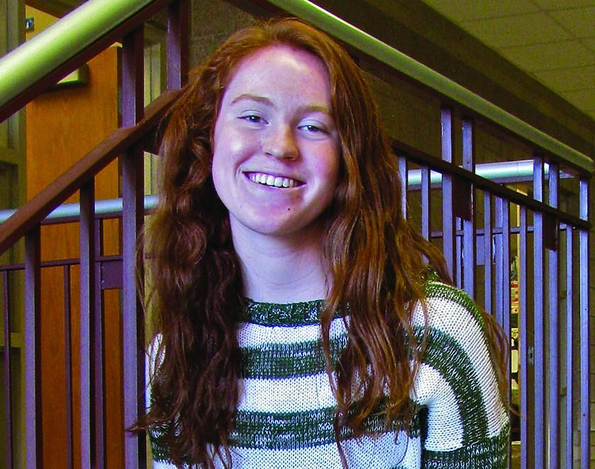 Senior Haley Beech is a National Merit Commended Student, runs on varsity cross country and still is able spend time with friends.