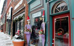 """The exterior of Stillwater's new store Britta's definitely brings in the cozy/fun atmosphere that is unique to the store. """"There is a variety of shops, so you can add a little bit of everything to your experience of going downtown,"""" said junior Marla Martin."""