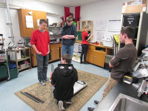 Robotics team to compete in the Aerial Assist