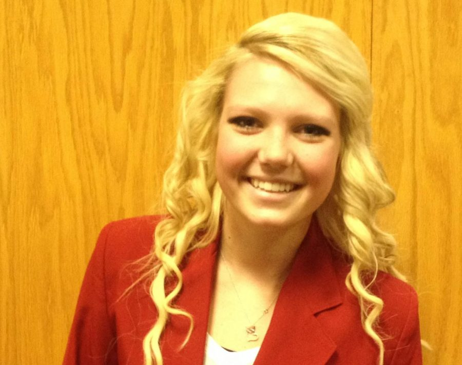 """Boche, a SAHS alumni, has been selected to serve as an ambassador on the SkillsUSA State Officers Team. """"The application process of really difficult and long, but I know the experience is going to be great,"""" said Boche."""