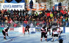 Hockey team played at Minnesota hockey day