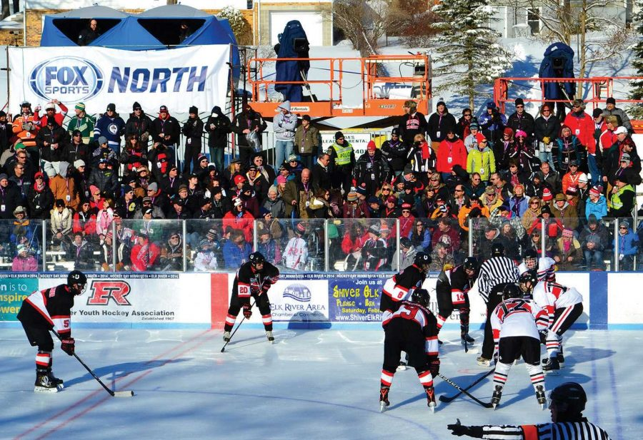 Hockey team played at Minnesota hockey day