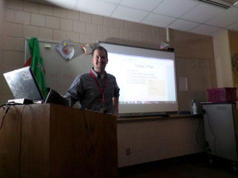 Benson introduces flipped math class
