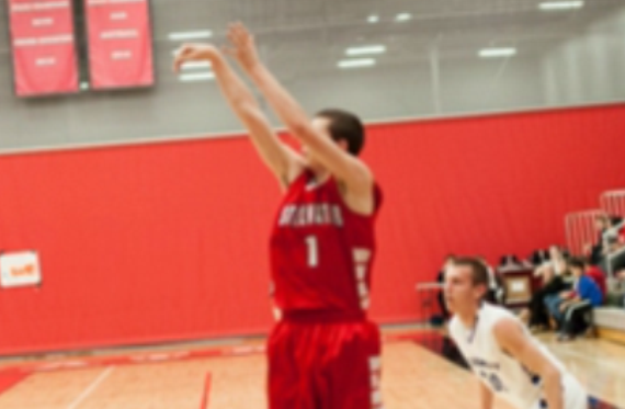 """Junior Connor Gamble waits for a pass at """"The Stable"""", his home stomping grounds. Over the course of this season, Gamble has become one of the top scorers on the team, making up for his """"short"""" stature."""