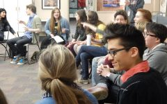 Students gather at Stillwater Area High School to discuss gender equality. They proposed actions that can be taken at the school and in the Stillwater area.