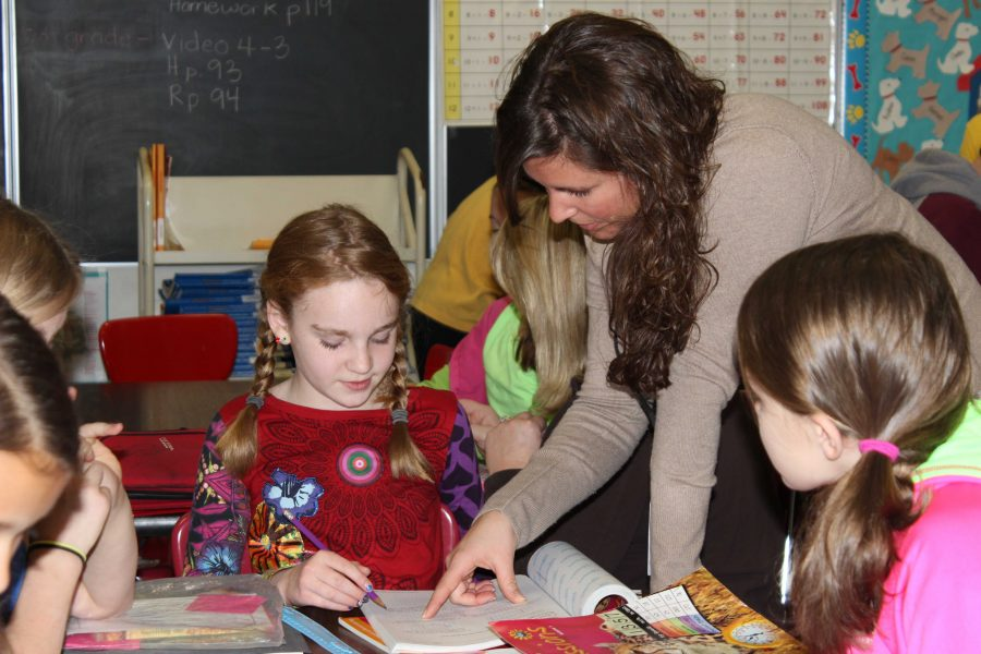 Student teachers enhance learning in classes this year