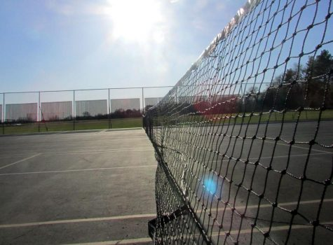 Oakland installing new tennis courts