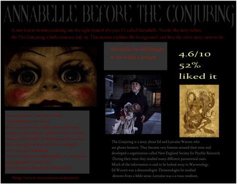 'Annabelle' scares its way into theaters