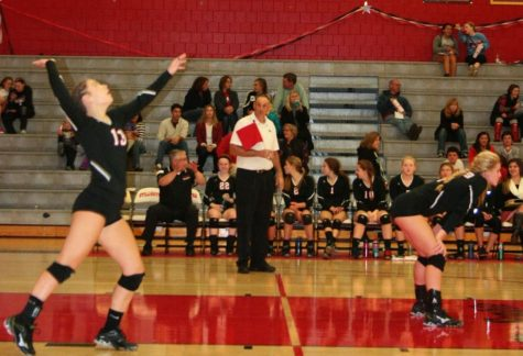 Volleyball spikes up success