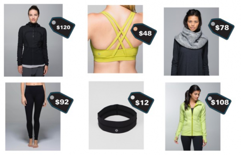 Lululemon dominates the teenage fashion world
