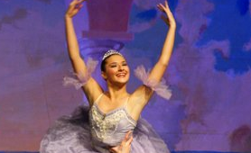 "Ballerina, Ava Wichser, has been dancing for 13 years and dances annually in the Nutcracker. ""She started ballet because of her love to perform. The first time she saw The Nutcracker, she was not in it, but she knew she wanted to be."""