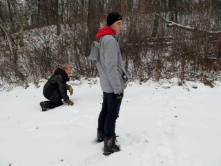 Sophomore+Evan+Sand+and+senior+Alden+Zeller+explore+tracks+left+in+the+fresh+snow.+The+Naturalist+Club+provides+students+with+an+opportunity+to+get+out+and+learn+about+nature+in+a+hands-on+way%2C+while+doing+fun+outdoor+activities+including+hiking+and+camping.+%E2%80%9CI%E2%80%99m+looking+forward+to+the+trip+up+north+to+Wisconsin+later+this+year%2C%E2%80%9D+said+Zeller.+%E2%80%9CIt%E2%80%99s+a+long+weekend+trip+in+the+woods+and+we+will+go+hiking%2C+snowshoeing+and+even+forge+a+few+lakes.%E2%80%9D%0A
