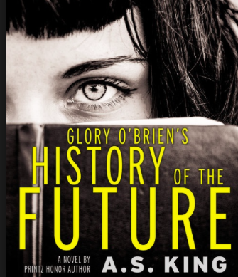 Famous author writes new book, 'Glory O'Brien's History of The Future'