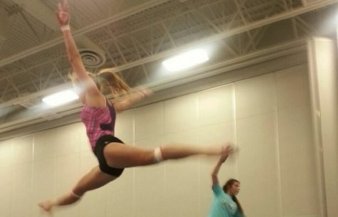 Gymnastics team springs into new season