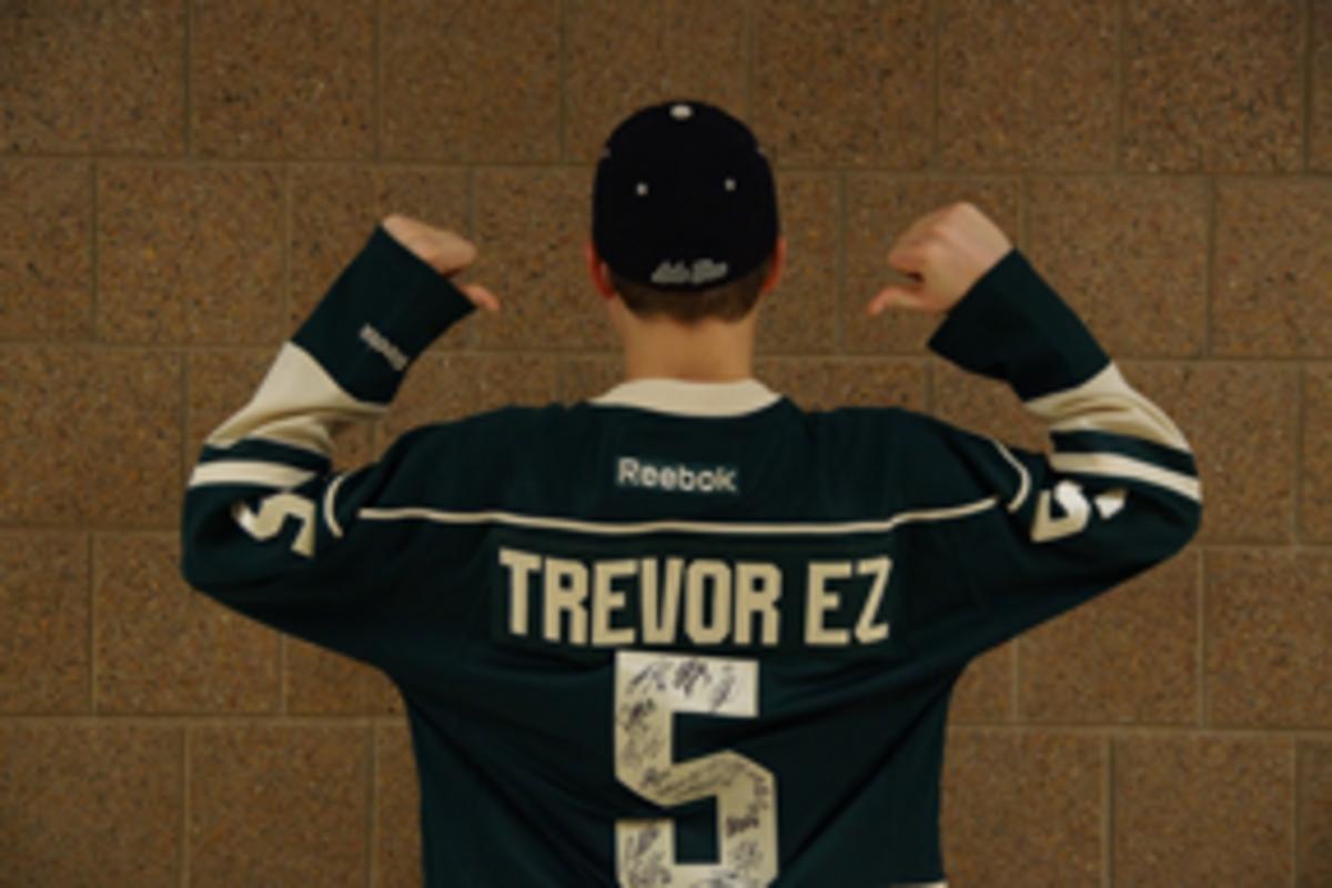 Minnesota hockey is wild about Trevor Eder-Zdechlik