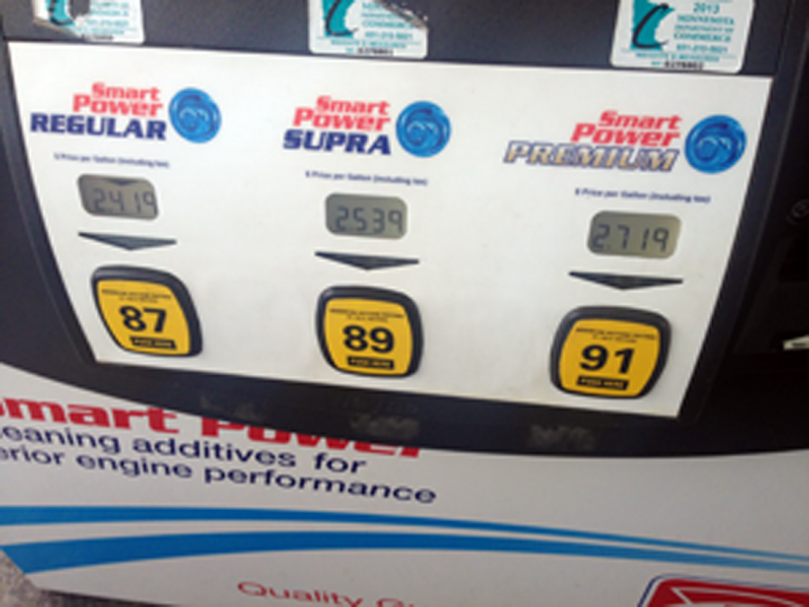 Low gas gives people unleaded happiness
