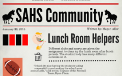 Staff Editorial: students need to take responsibility in cafeteria
