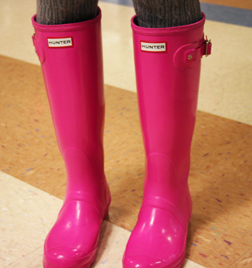 Hunter rain boots provide function and fashion