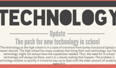 Staff Editorial: technology distribution among students unequal