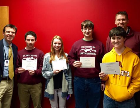 Students earned National Merit Scholarship Program