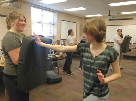 Self-defense club kicks into action