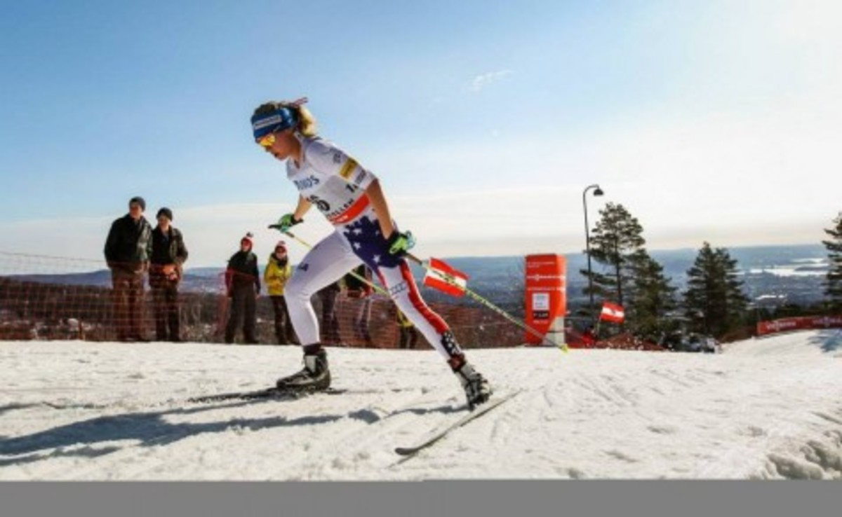 Former graduate Jessie Diggins makes large strides in the World Nordic Skiing Competition in Falun, Sweden. Junior Sam Hanson said,
